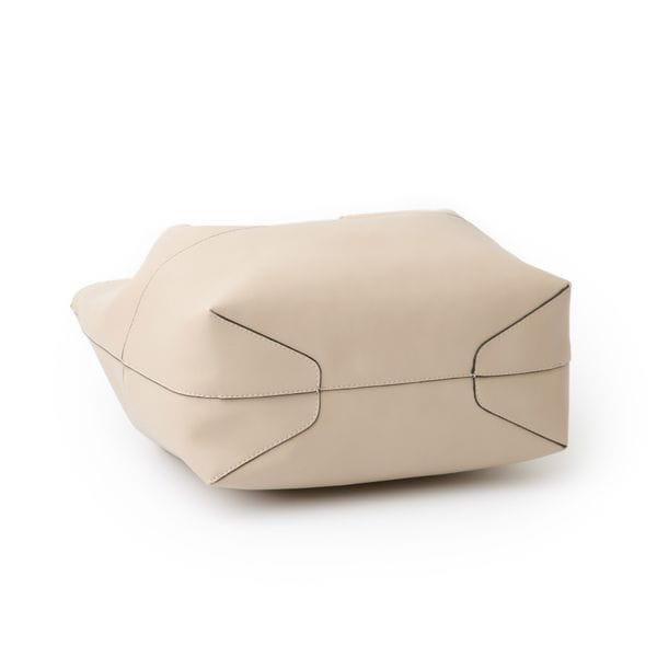 リバーシブルバンブーキャンバスバッグ