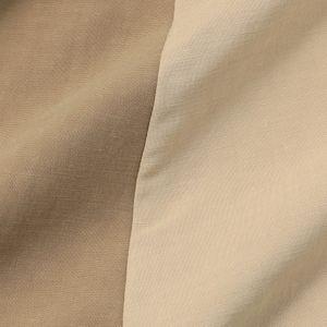 バイカラーシャツワンピース