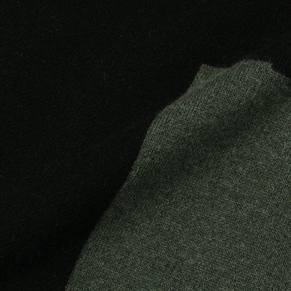 カラーブロックニットワンピース