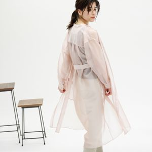 【TVドラマ着用】【WEB限定】シースルーシャツドレス