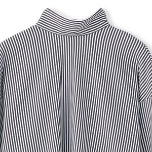 ストライプバックボタンシャツ