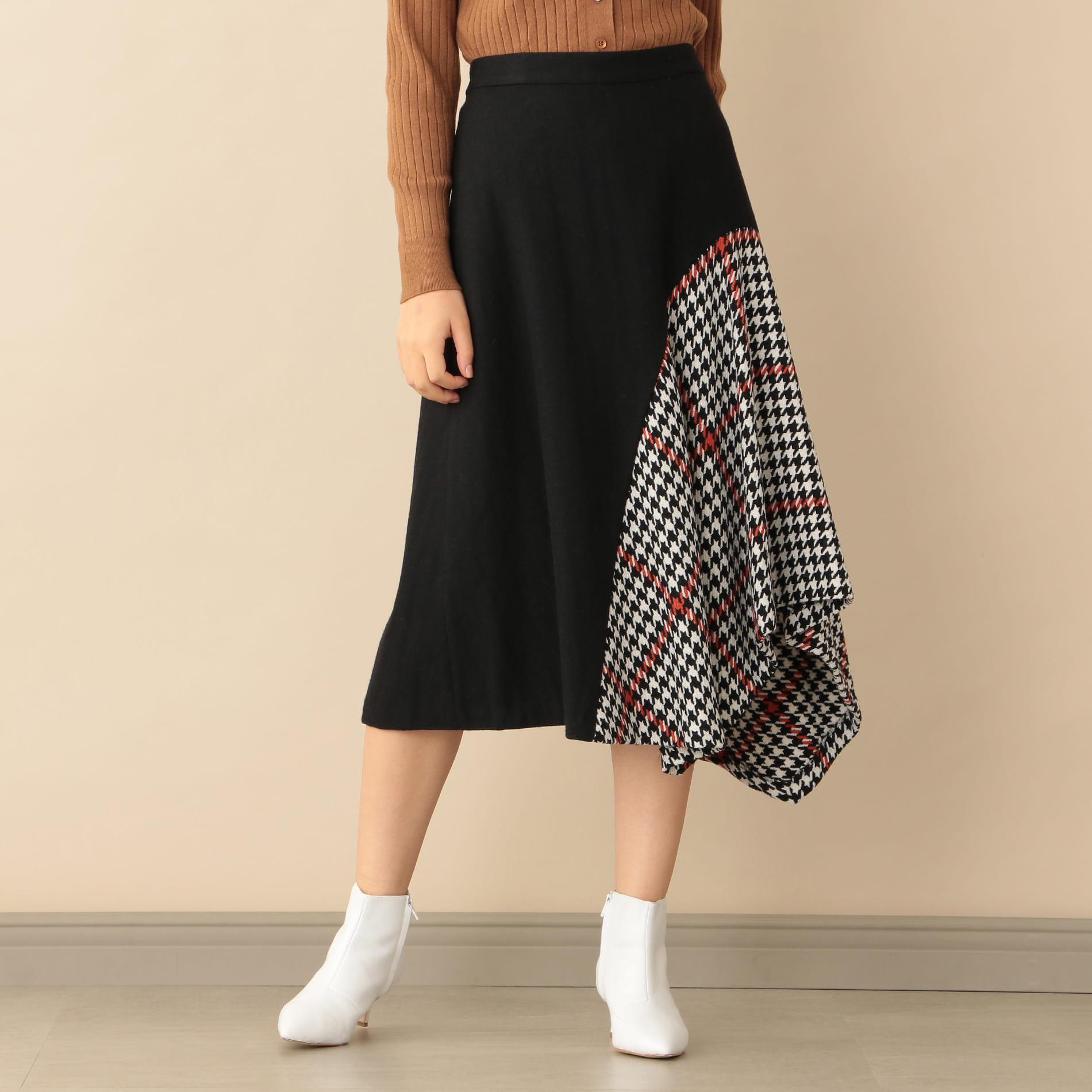 ヘンリボーン×チェックコンビスカート