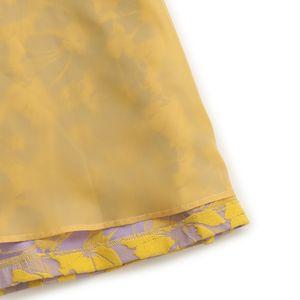 ジャガードフラワースカート