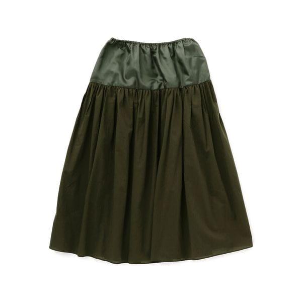 トレンチディティールスカート